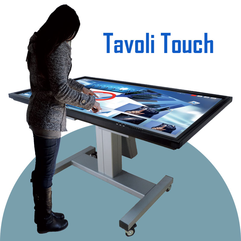 tavolo tavoli touch screen digital signage monitor display treviglio media