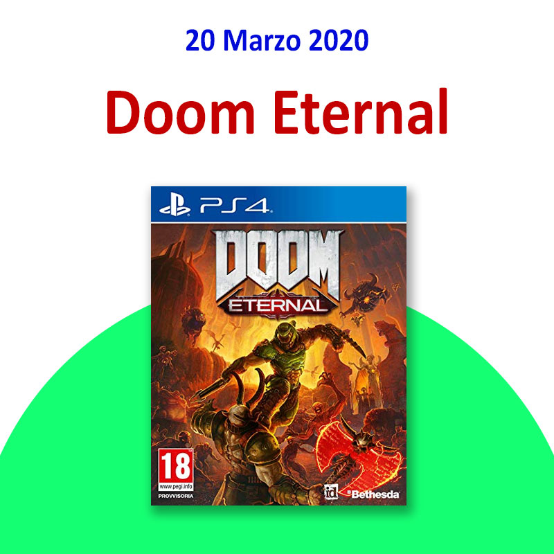 doom eternal ps4 xbox videogame treviglio media
