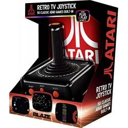 Console Portatile Retro Atari TV Plug & Play + 50 Giochi (Multi-Piattaforma)